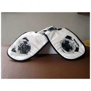 Pug Oven Gloves
